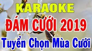 Karaoke Liên khúc Nhạc Đám Cưới 2019 | Nhạc Sống Tuyển Chọn Những Bài Mùa Cưới | Trọng Hiếu