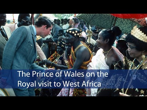 A message from HRH The Prince of Wales ahead of the tour to West Africa
