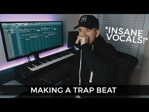 INSANE VOCALS!! How to use vocal samples in Trap beats | Making a Trap Beat FL Studio 12