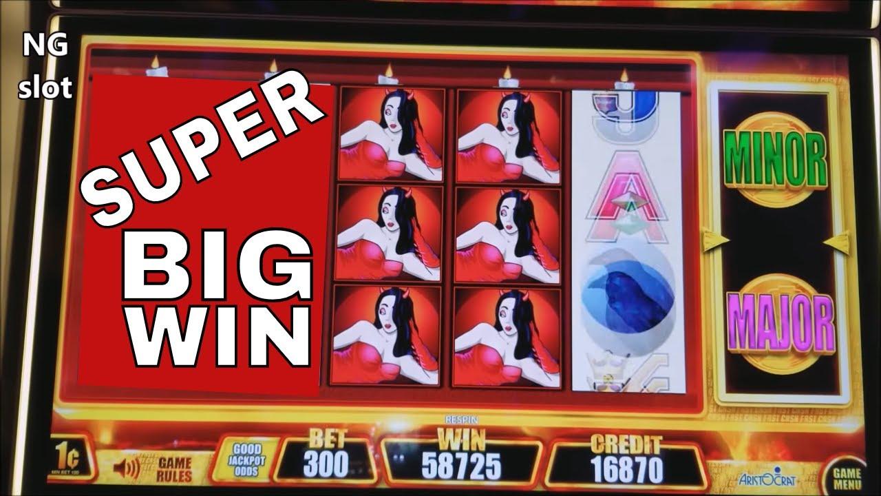 Wicked Winning 2 Slot Machine Super Big Win Wicked