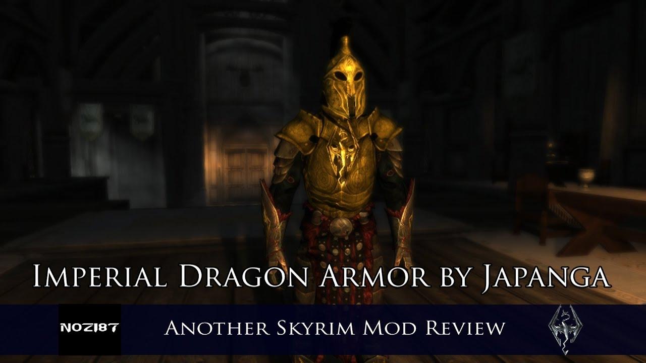 Imperial Dragon Armor By Japanga Youtube Моды для the elder scrolls v: imperial dragon armor by japanga
