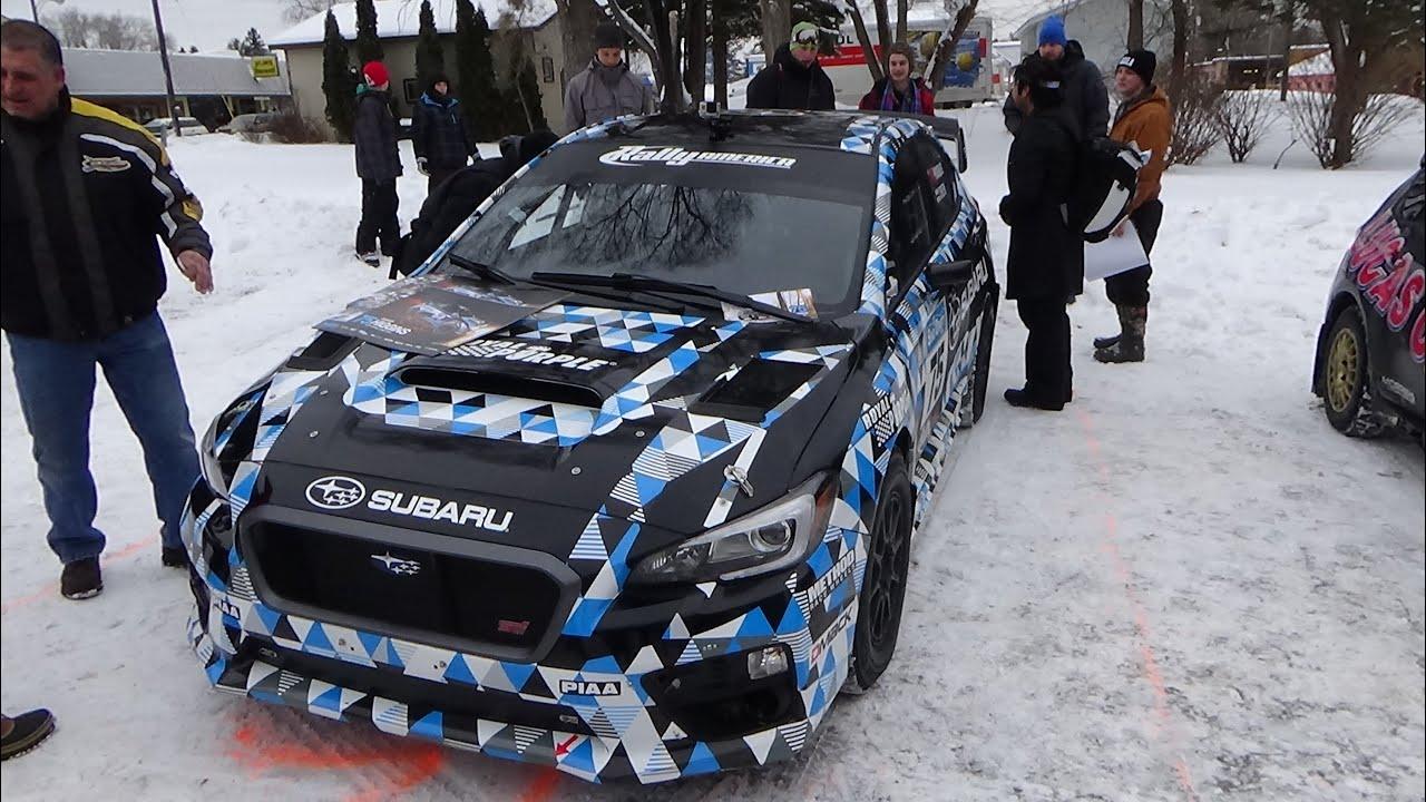 David Higgins New 2015 Subaru Wrx Sti Rally Car The