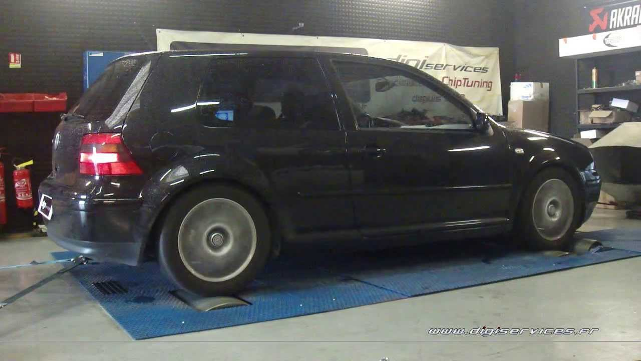 reprogrammation moteur vw golf 4 1 9 tdi 150cv 189cv digiservices paris 77183 dyno youtube. Black Bedroom Furniture Sets. Home Design Ideas