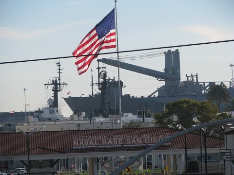 Naval Base San Diego - Largest in the US West Coast