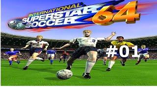 Let's Play International Superstar Soccer 64 #1 - International Cup, Regional Open #1&2