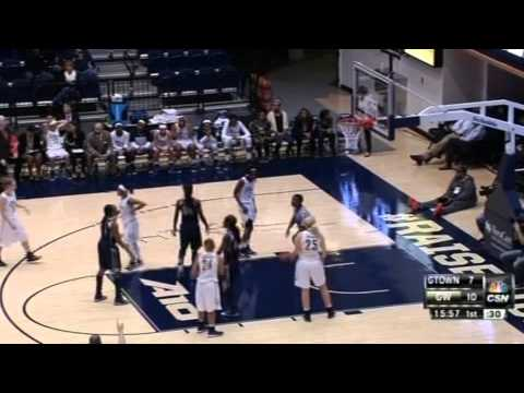 Comcast Sportsnet Color Commentator - 12.9.14 GW vs. Georgetown Womens Basketball