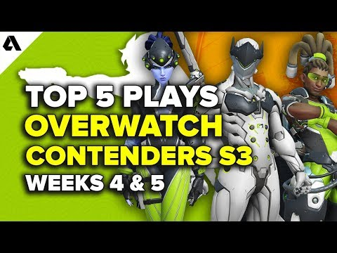 Top 5 Overwatch Contenders S3 Plays - Weeks 4 & 5 thumbnail