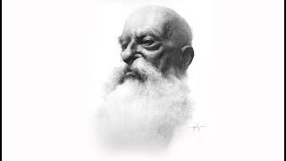 ZIMOU TAN | ART | How to draw a bearded man portrait demo