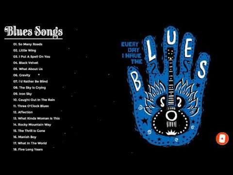 Blues Rock - Southern Rock Badass Music - Best Of Blues Rock Songs Ever
