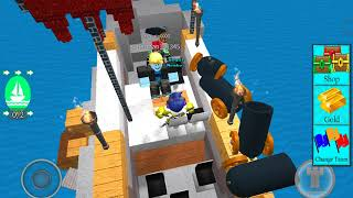ROBLOX: Build a Boat for Treasure w/superman111345 , copcosmicflames244 and XLYezin0000