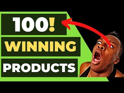 Top 100 WINNING Products for 2020 | Shopify Dropshipping thumbnail