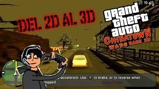 ASÍ ES JUGAR GTA CHINATOWN WARS EN 3D [EL GTA IV DE PSP]