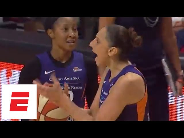 Diana Taurasi highlights [Mercury vs Sun, 2018 WNBA playoffs]: 27 points, 5 assists | ESPN