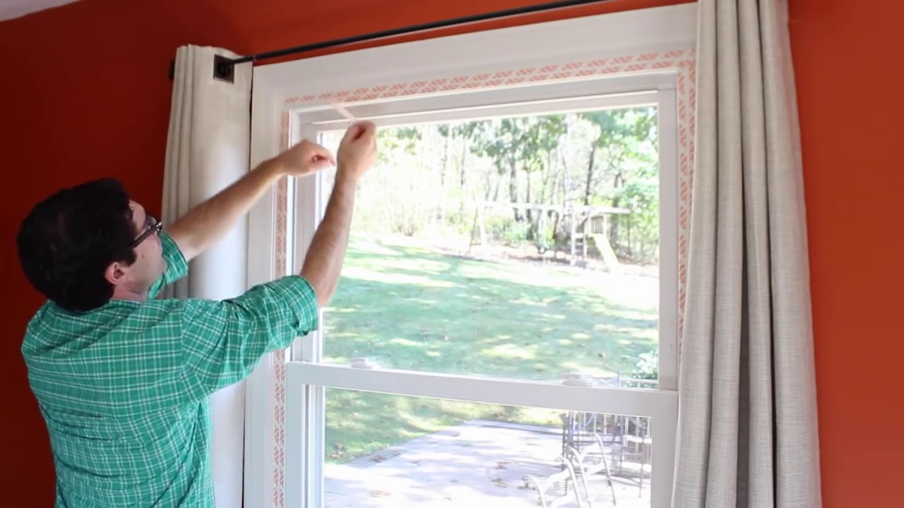 How To Insulate Windows How To Weatherize Windows With Plastic Film Insulation By Home Repair Tutor