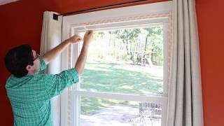 how to weatherize windows with plastic film insulation by home repair tutor
