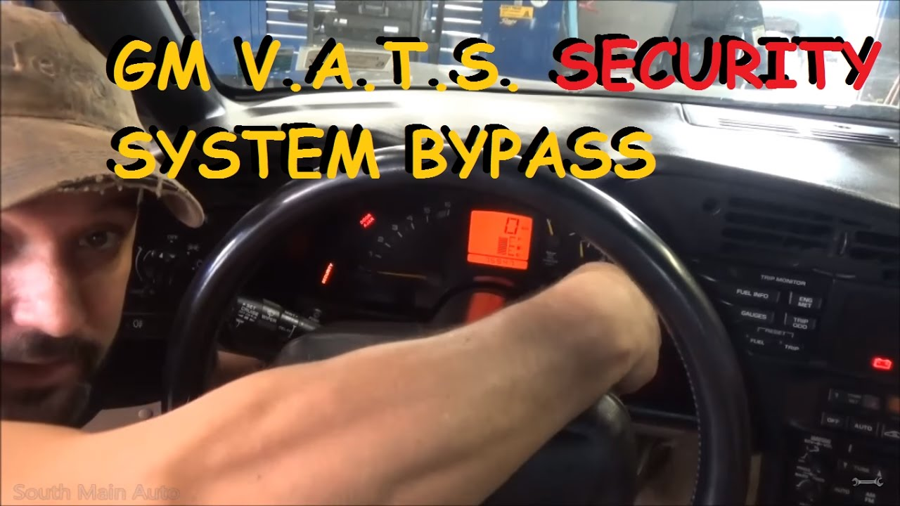 Gm Vats Key Resistor Security Bypass Youtube 97 Buick Lesabre Wiring Diagram