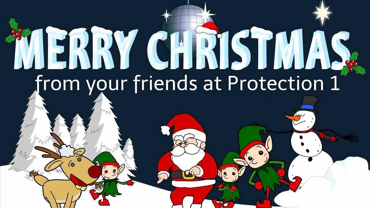 Christmas Dancing Cartoon.Dancing Santa Claus Cartoon 2 Epic Christmas Dance Battle