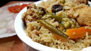 Chicken vegetable pulao recipe