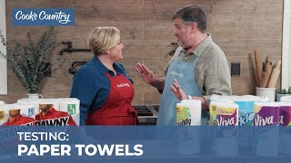 The Best Paper Towels for Kitchen Messes