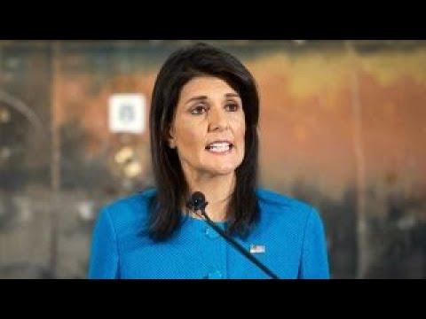 Amb. Haley announces $285 million cut to UN budget