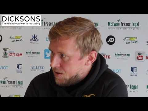 CaleyJagsTV : Richie Foran Match Preview v Ross County : 26/04/17