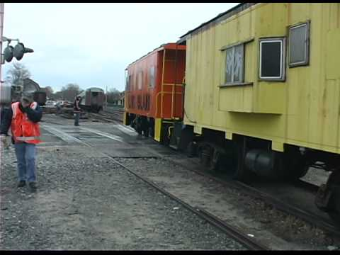 Caboose C-60 Goes To Brooklyn