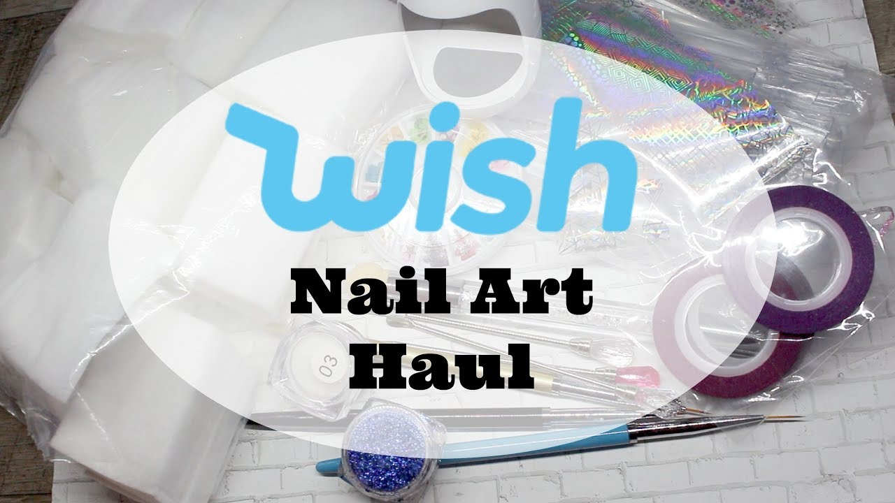 WISH Nail Art Haul : Cheap Nail Art Products