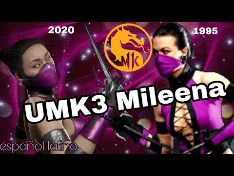 Mileena UMK3 Skin! MK11 KLASICA Muestra | Intros, brutalities, Friendhsip, dialogos | Español Latino