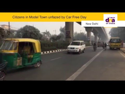 Citizens in Model Town unfazed by Car Free Day