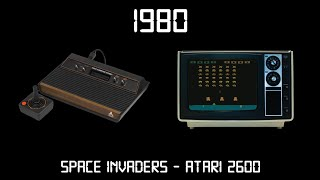 Gaming Through The Ages Phase 1 - 1980 - Space Invaders - Atari 2600