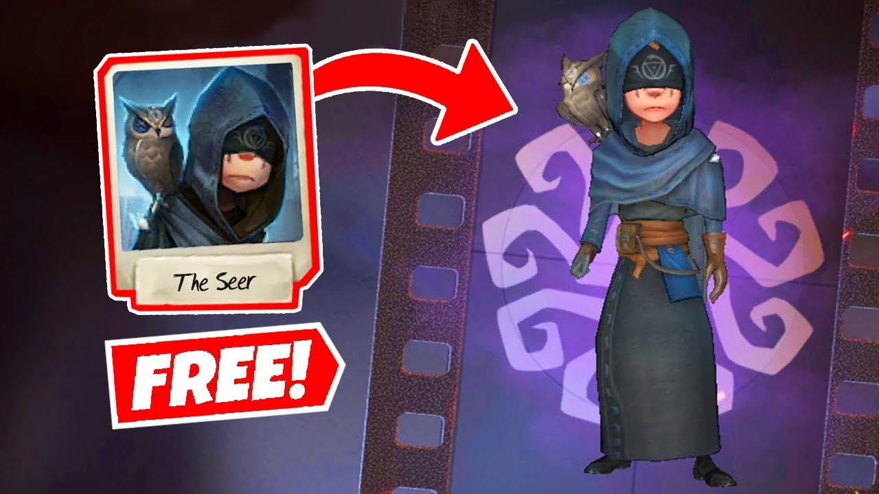How To Get The Seer For Free Identity V Youtube