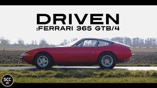 4K - FERRARI 365 GTB/4 DAYTONA COUPÉ 1973 - Full test drive in top gear - V12 sound | SCC TV