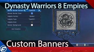 Dynasty Warriors 8 Empires Custom Banners