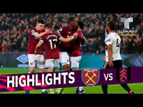 West Ham vs. Fulham: 3-1 Goals & Highlights   Premier League   Telemundo Deportes