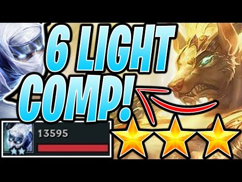 HOW to ⭐⭐⭐ LIGHT GUIDE - Teamfight Tactics TFT RANKED Strategy Beginners Best Comps Set 2 923