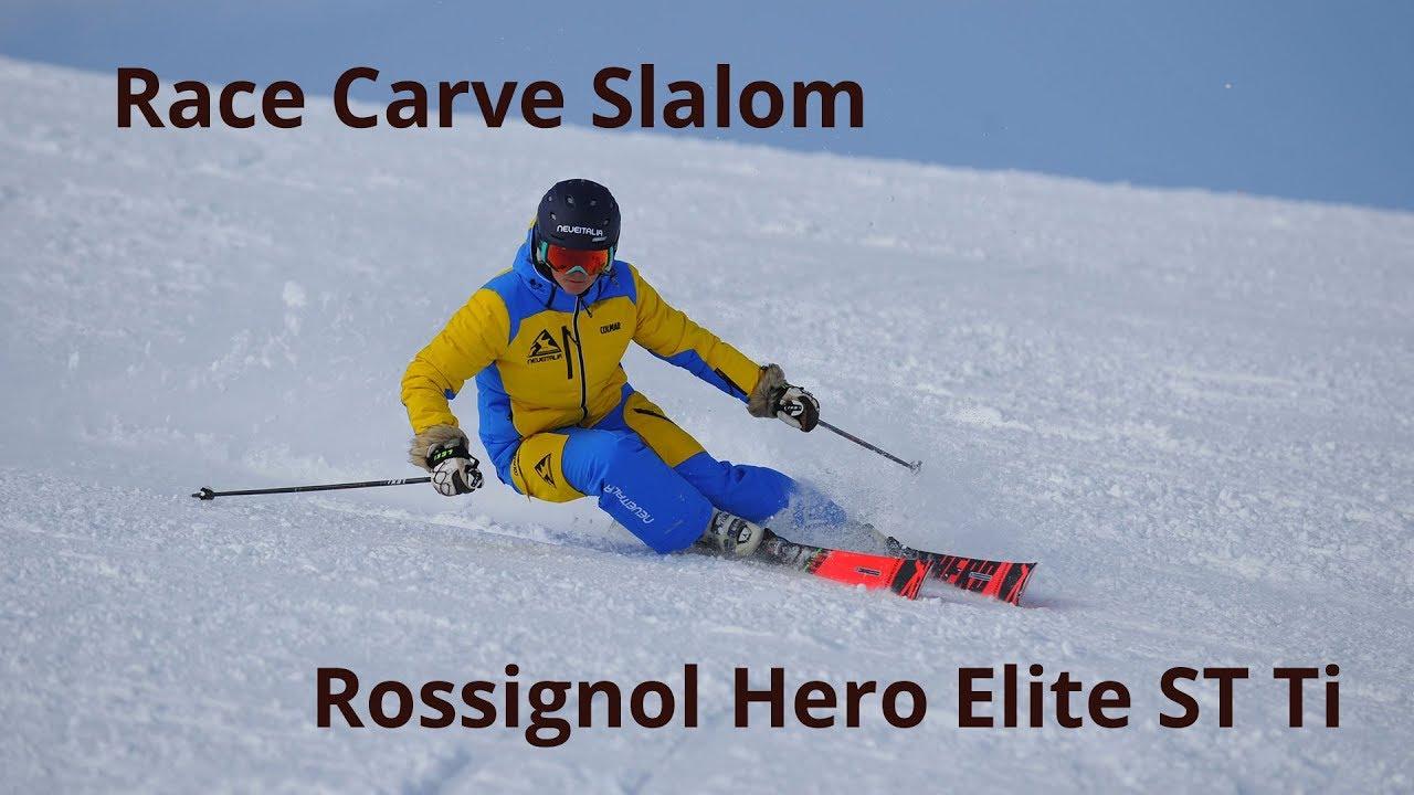 Rossignol Hero Elite ST Ti - Neveitalia Ski-Test 2018/2019