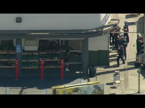 Store manager killed in California shootout