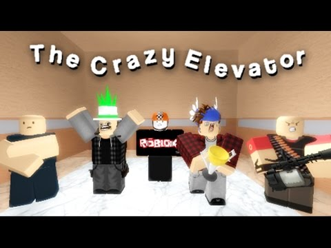 Roblox normal elevator getting squashed like a pancake