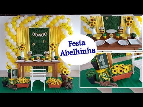Decoração de Festa Infantil ABELHINHA