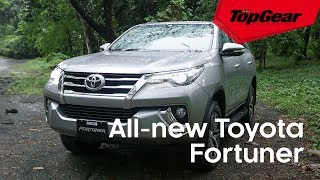 The all-new Toyota Fortuner