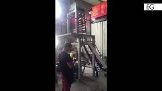 Смотреть видео Производство рукавной пленки. Огранизация технологического процесса