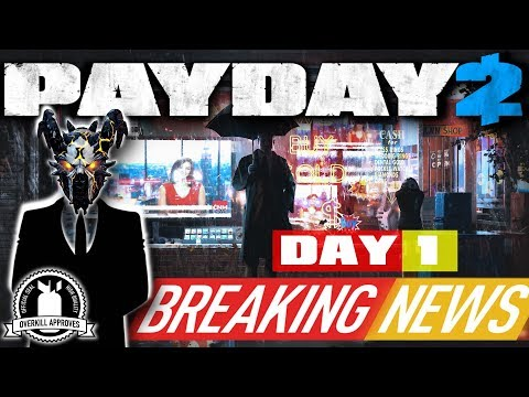 "PAYDAY 2: Breaking News Day 1 / Giorno 1: CNM, Golden Houston and ""Cupcakes"""