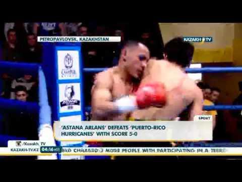 'Astana Arlans' defeats 'Puerto-Rico Hurricanes' with score 5-0 - Kazakh TV