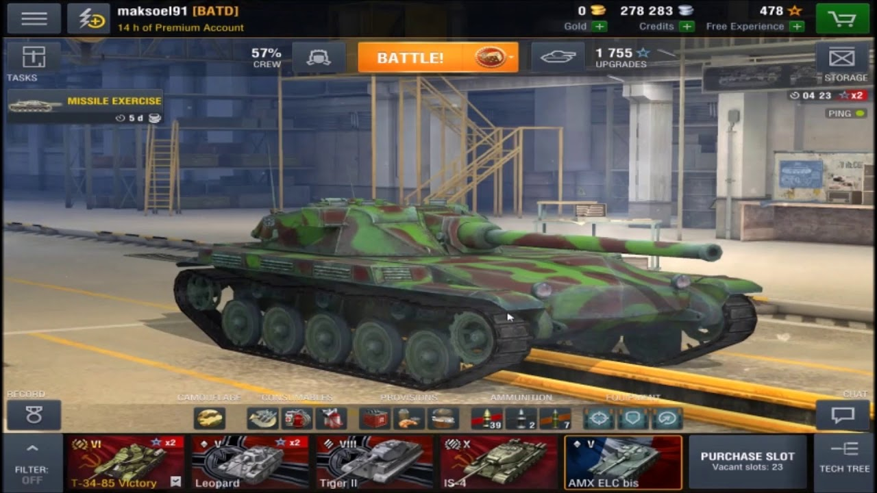 Wot Blitz Amx Elc Bis Review And Some Games