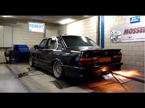 bmw e28 m535i turbo dynorun 464hp 682nm youtube. Black Bedroom Furniture Sets. Home Design Ideas