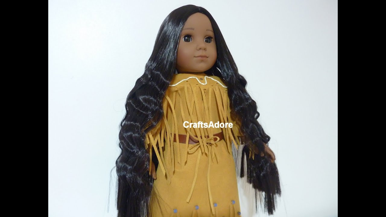 American Girl Doll Kaya is Having Her Meet Hair Let Down - American Girl Doll Hairstyles