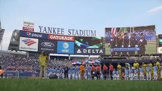 J.Antonette National Anthem Performance at Yankee Stadium NYCFC