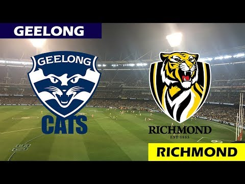 GEELONG VS RICHMOND AFL QUALIFYING FINAL 2017