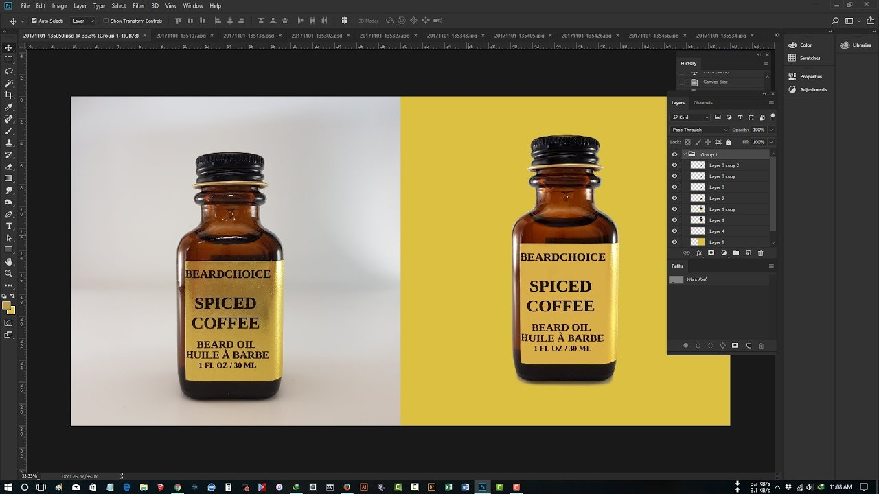 product retouching in photoshop cc 2018