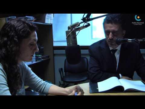 El embajador de Bolivia ante la ONU, Sacha Llorenti paso por la Radio Pública